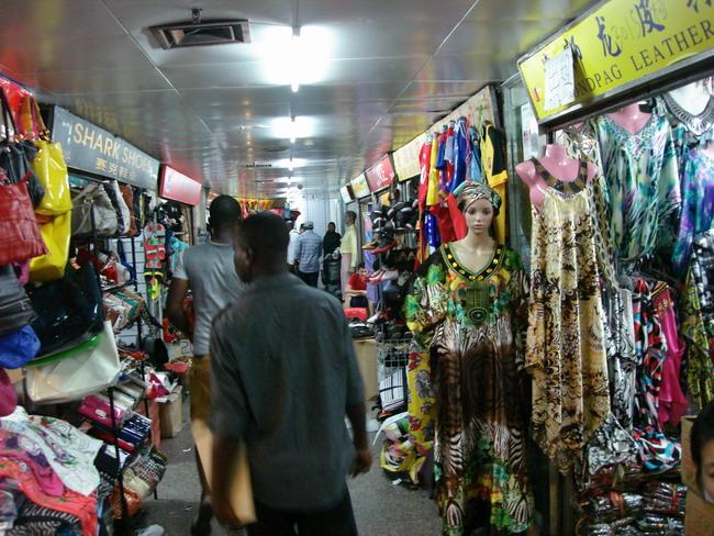 Гуанчжоу оптовый вещевой рынок